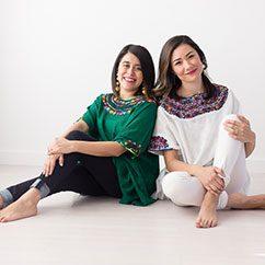 Pamela Lozoya & Sandra Falcon