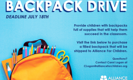 Alliance for Children's Backpack Drive
