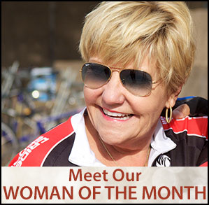 Woman of the Month ad