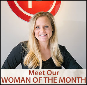Ad for Fort Worth Woman Woman of the Month January 2020