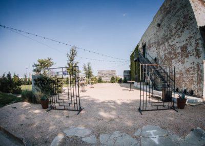 BRIK courtyard