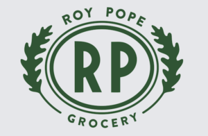 Roy Pope Grocery logo
