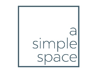 logo for A Simple Space - a professional organizing company that proudly serves DFW