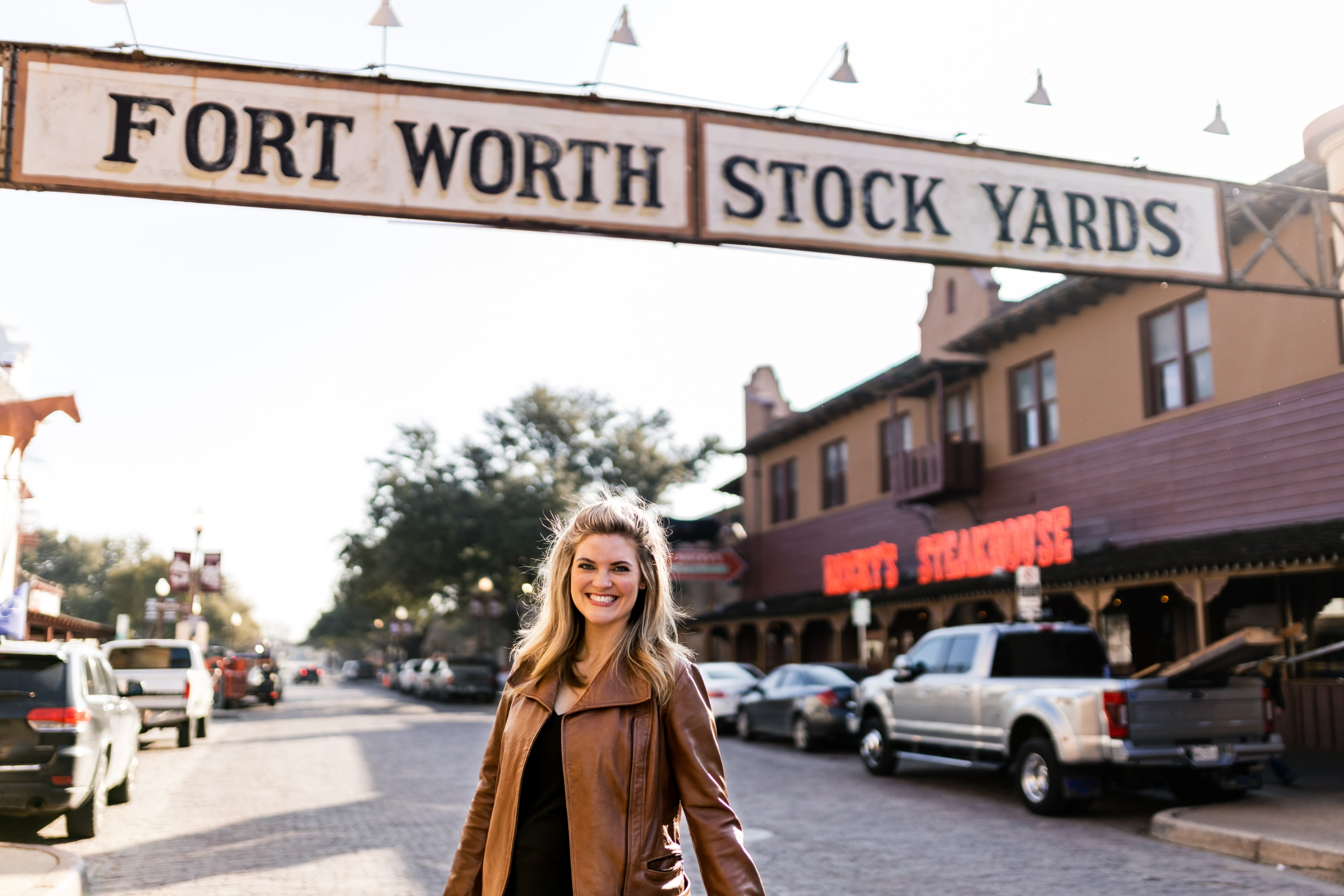 Michelle-at-Fort-Worth-Stockyards