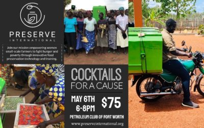 Cocktails for a Cause benefitting Preserve International